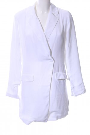 NA-KD Long-Blazer weiß Elegant