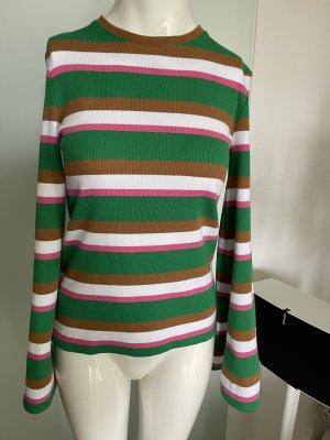 NA-KD Ribbed Shirt multicolored