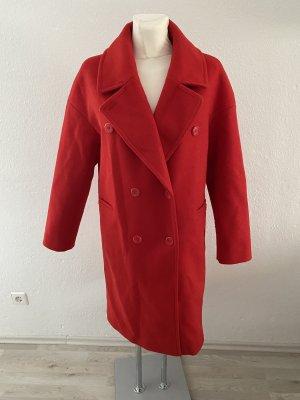 NA-KD Cappotto corto rosso scuro-rosso mattone