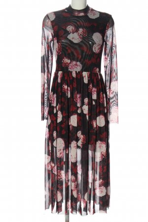 NA-KD Maxikleid Allover-Druck Casual-Look