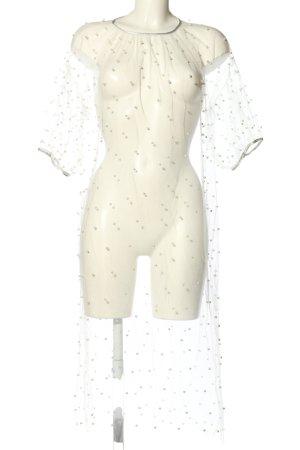 NA-KD Blusenkleid weiß Elegant