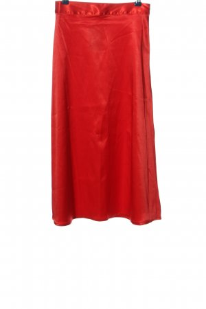 NA-KD Spódnica midi czerwony W stylu casual
