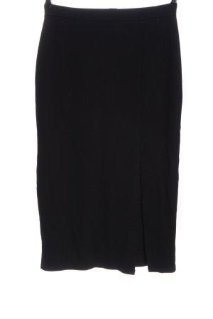 NA-KD Spódnica midi czarny W stylu biznesowym