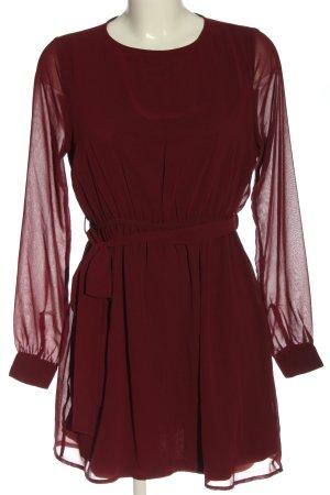 NA-KD Minikleid rot Elegant