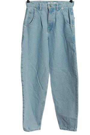NA-KD Mom-Jeans blau Casual-Look