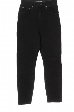 NA-KD Mom-Jeans schwarz Casual-Look
