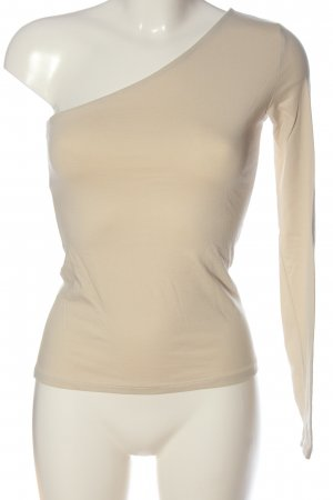 NA-KD One-Shoulder-Shirt creme Casual-Look