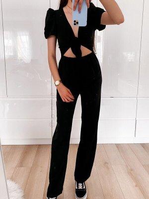 NA-KD Tailleur pantalone nero