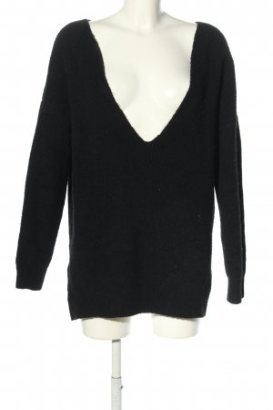 NA-KD Oversized Pullover schwarz Casual-Look