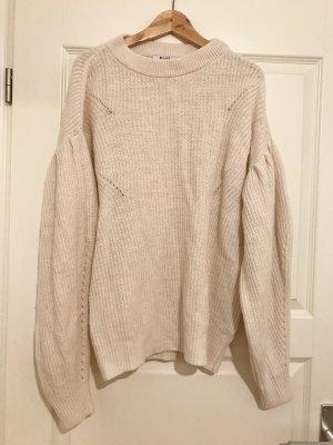 NA-KD Oversized Pullover Beige Extra weite Ärmel