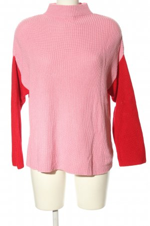 NA-KD Oversized trui roze-rood casual uitstraling