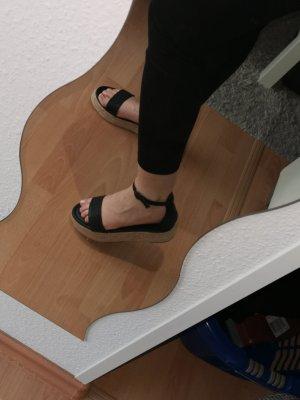 na-kd plateau sandaletten