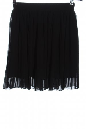NA-KD Falda plisada negro look casual