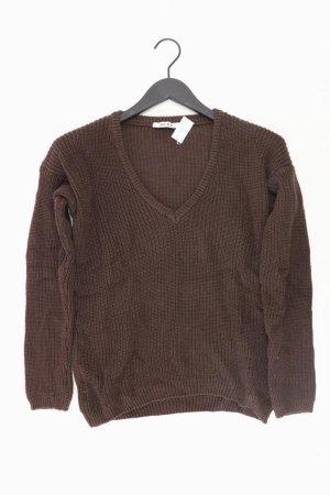 NA-KD Pullover braun Größe M