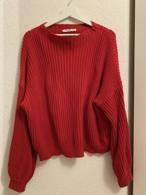 Nakd Pullover all'uncinetto rosso