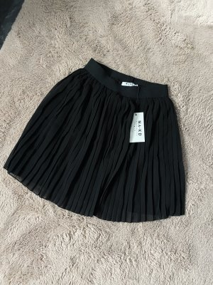 NA-KD Geplooide rok zwart