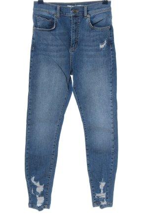 NA-KD Röhrenjeans blau Casual-Look