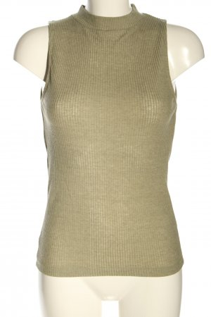 NA-KD Neckholder Top khaki cable stitch casual look