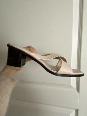 NA-KD Sandaletten Sandalen Nude Beige Grösse 40 neu