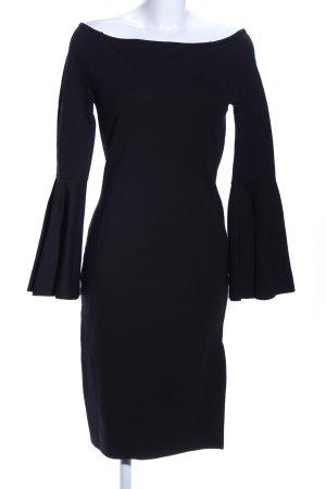 NA-KD schulterfreies Kleid schwarz Elegant