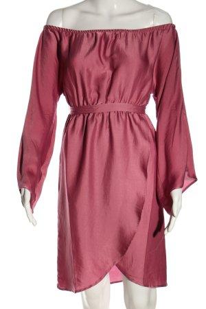 NA-KD schulterfreies Kleid pink Casual-Look