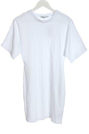 NA-KD Shirtkleid weiß Casual-Look