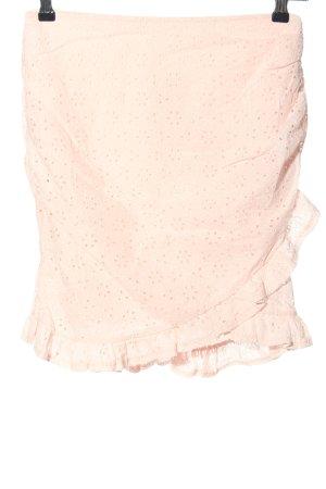 NA-KD Jupe en dentelle rose style décontracté