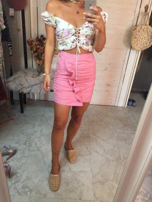 Nakd High Waist Skirt multicolored