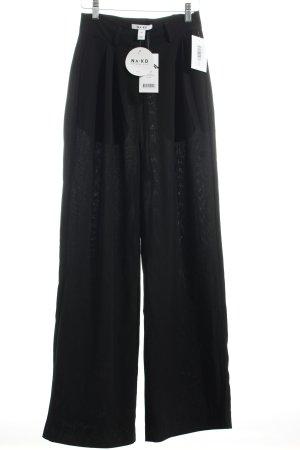 """NA-KD Pantalón tipo suéter """"Flared Pants"""" negro"""