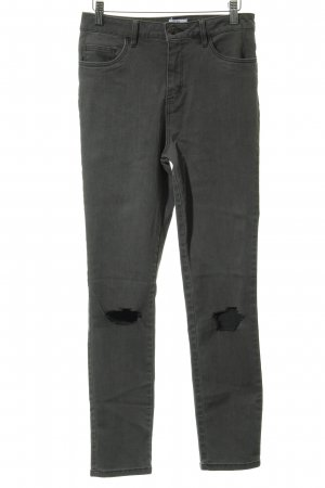 "NA-KD Stretch Jeans ""Luisa Lion"" grau"
