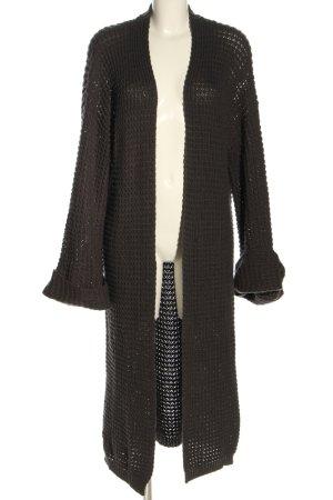 NA-KD Cappotto a maglia marrone stile casual