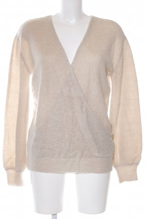 NA-KD Strickpullover creme Casual-Look
