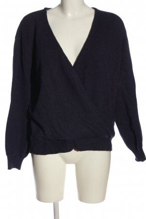 NA-KD Strickpullover lila Casual-Look