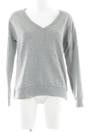 NA-KD Sweatshirt hellgrau Casual-Look