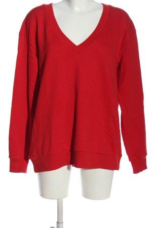 NA-KD Sweatshirt rot Casual-Look