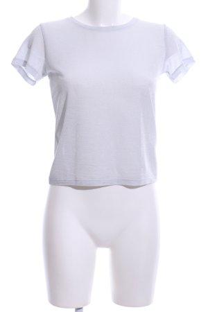 NA-KD T-Shirt weiß Casual-Look
