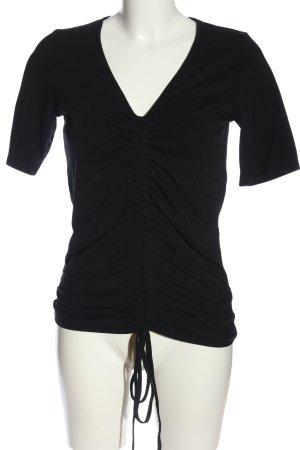 NA-KD T-Shirt schwarz Casual-Look