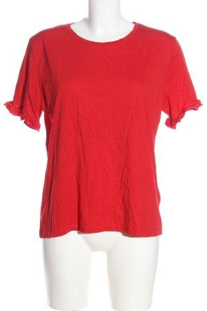 NA-KD T-Shirt rot Casual-Look