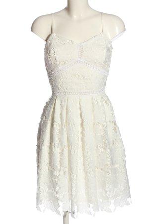 NA-KD Trägerkleid weiß Elegant
