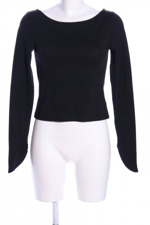 NA-KD U-Boot-Shirt schwarz Casual-Look