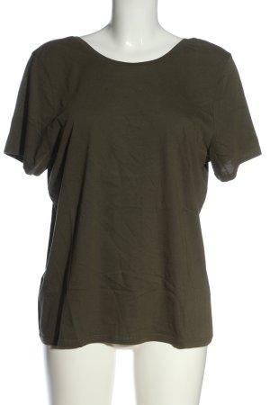 NA-KD U-Boot-Shirt khaki Casual-Look