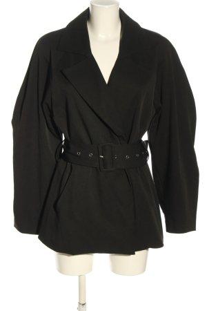 NA-KD Übergangsjacke schwarz Elegant