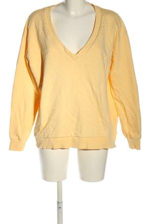 NA-KD Maglione con scollo a V arancione chiaro stile casual