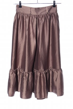 NA-KD Volantrock bronzefarben Elegant