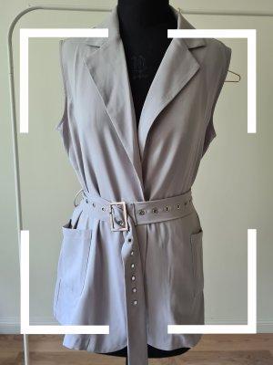 NA-KD Chaleco de vestir gris claro