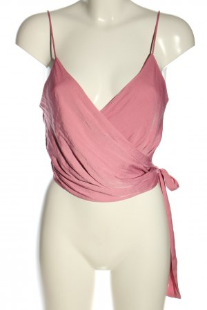 NA-KD Wickel-Bluse pink Casual-Look