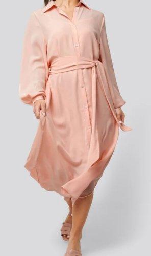 Nakd Abito blusa camicia rosa pallido