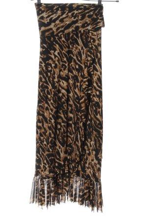NA-KD Jupe portefeuille motif léopard style extravagant