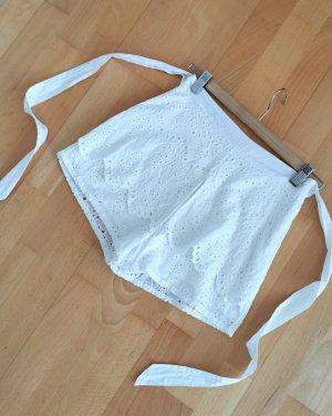 Debiflue x NA-KD High-Waist-Shorts white-natural white