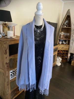 NA-KD Bufanda de lana azul bebé-azul celeste Lana